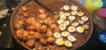 Lekker eten in Mandalay in Myanmar