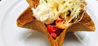 Scampi Tortilla Fastfood hack