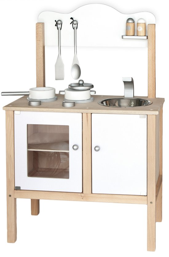 Mini Keuken Speelgoed : White Wooden Kitchen Playsets