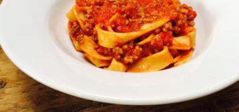 Snelle pasta Bolognaise