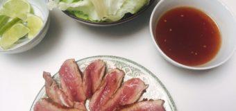 Uit liefde voor Vietnam kookboek review met eendenborst recept