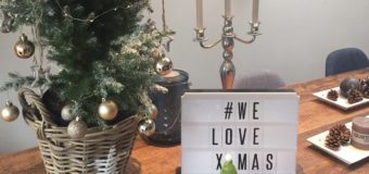 Kerstdagen in een nieuw huis