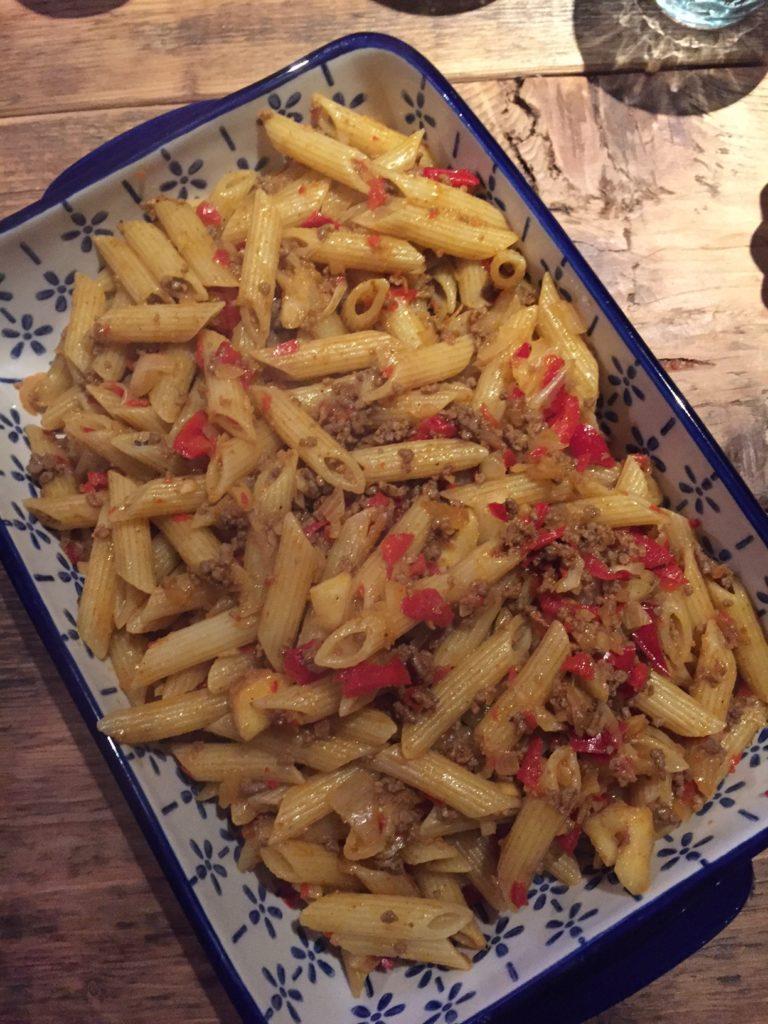 Recept voor Marokkaanse pasta foodblog Foodinista