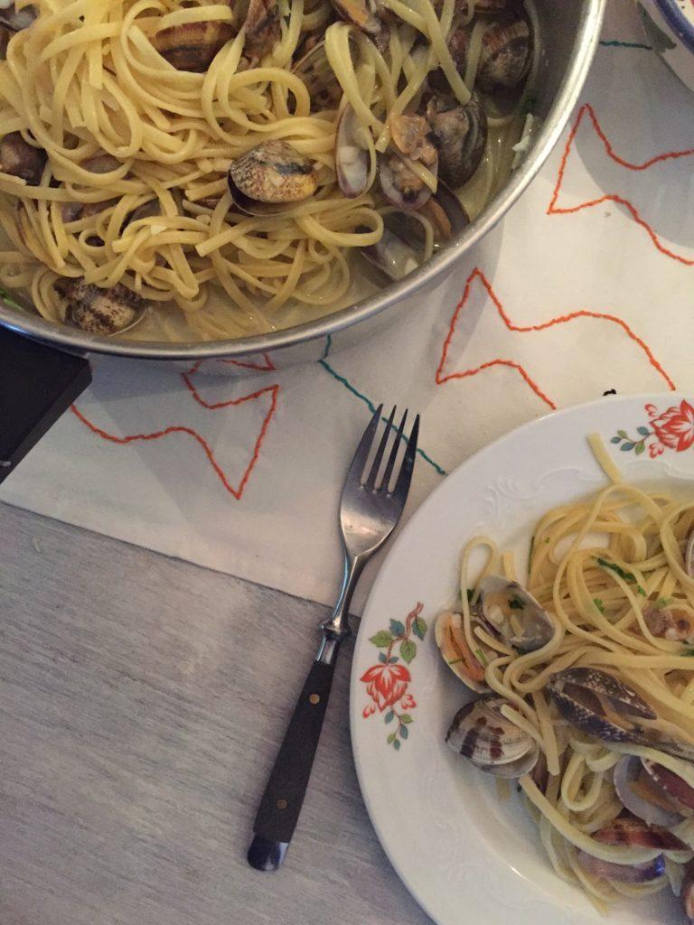 Pasta met kokkels Vongole recept van foodblog Foodinista
