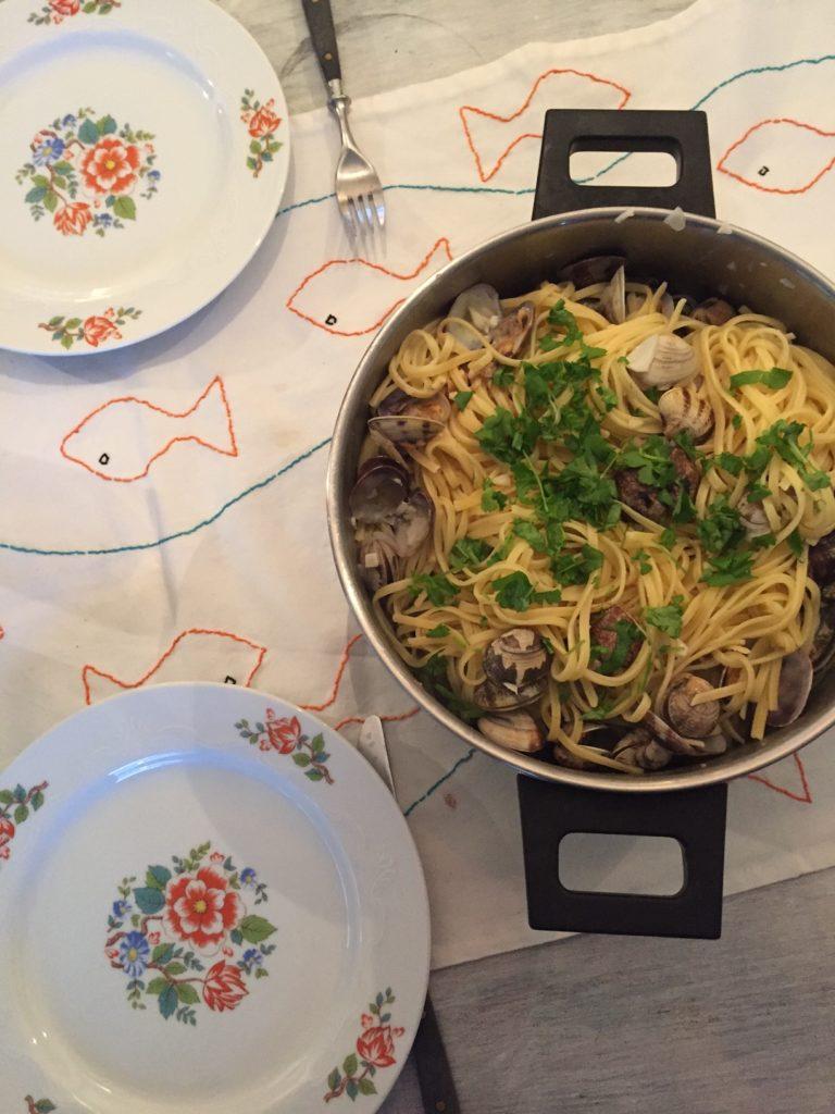 Pasta met kokkels recept van foodblog Foodinista