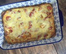 Spaanse frittata met chorizo