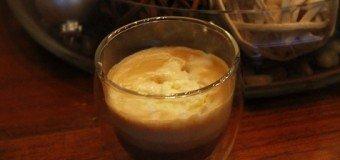 Witte chocoladekoffie