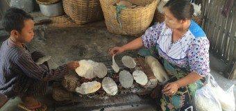 Fietsen en Eten in Inle Lake Myanmar