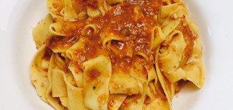 Snelle verse zomerse pasta