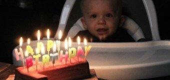 Eerste verjaardag van Florian Hieperdepiep!