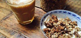 Gezouten caramel granola