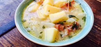 Italiaanse aardappelsoep
