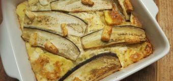 Griekse frittata met aubergine en feta