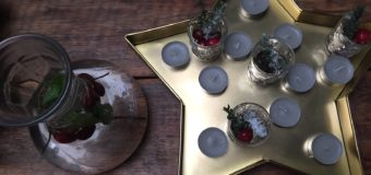 Kersttafel dekken een aantal leuke ideeën