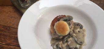 Kalkoenragout met champignons