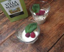 Snelle witte chocolademousse met Limoncello