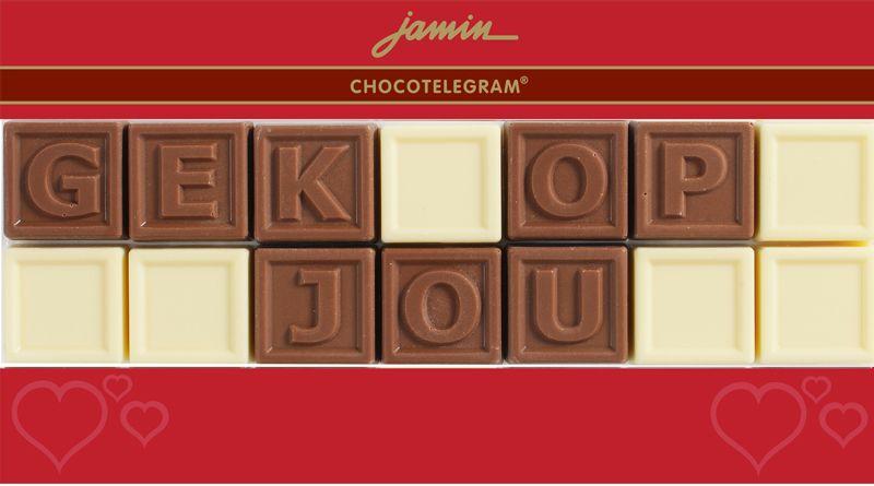 Valentijnscadeautjes tips een chocoladetelegram foodblog Foodinista