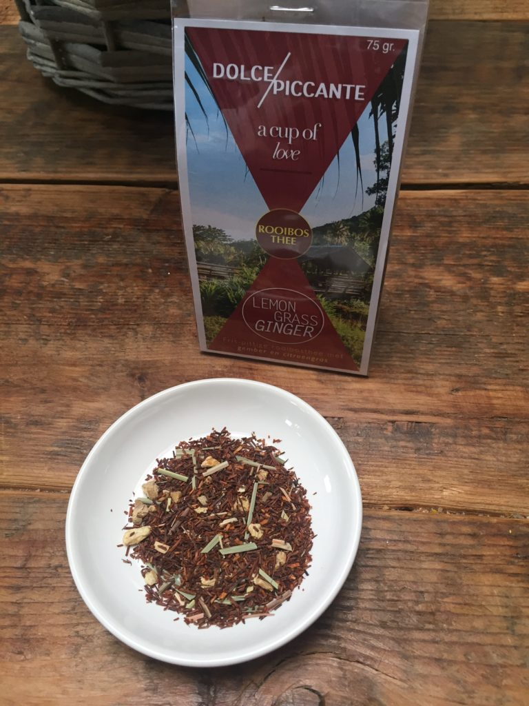 Dolce Piccante Rooibos gember thee winnen foodblog Foodinista