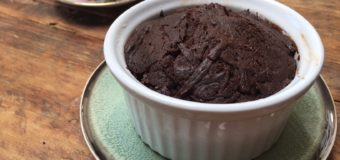 Smeuïge brownie in een cup