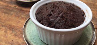 Smeuïge brownie in een cup