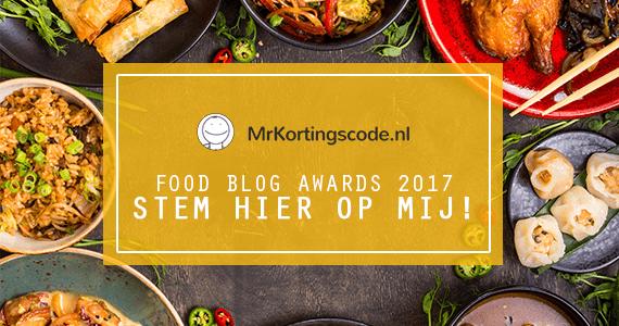 Deelname Foodblogawards Foodblog Foodinista