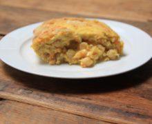 Omelet met kikkererwten