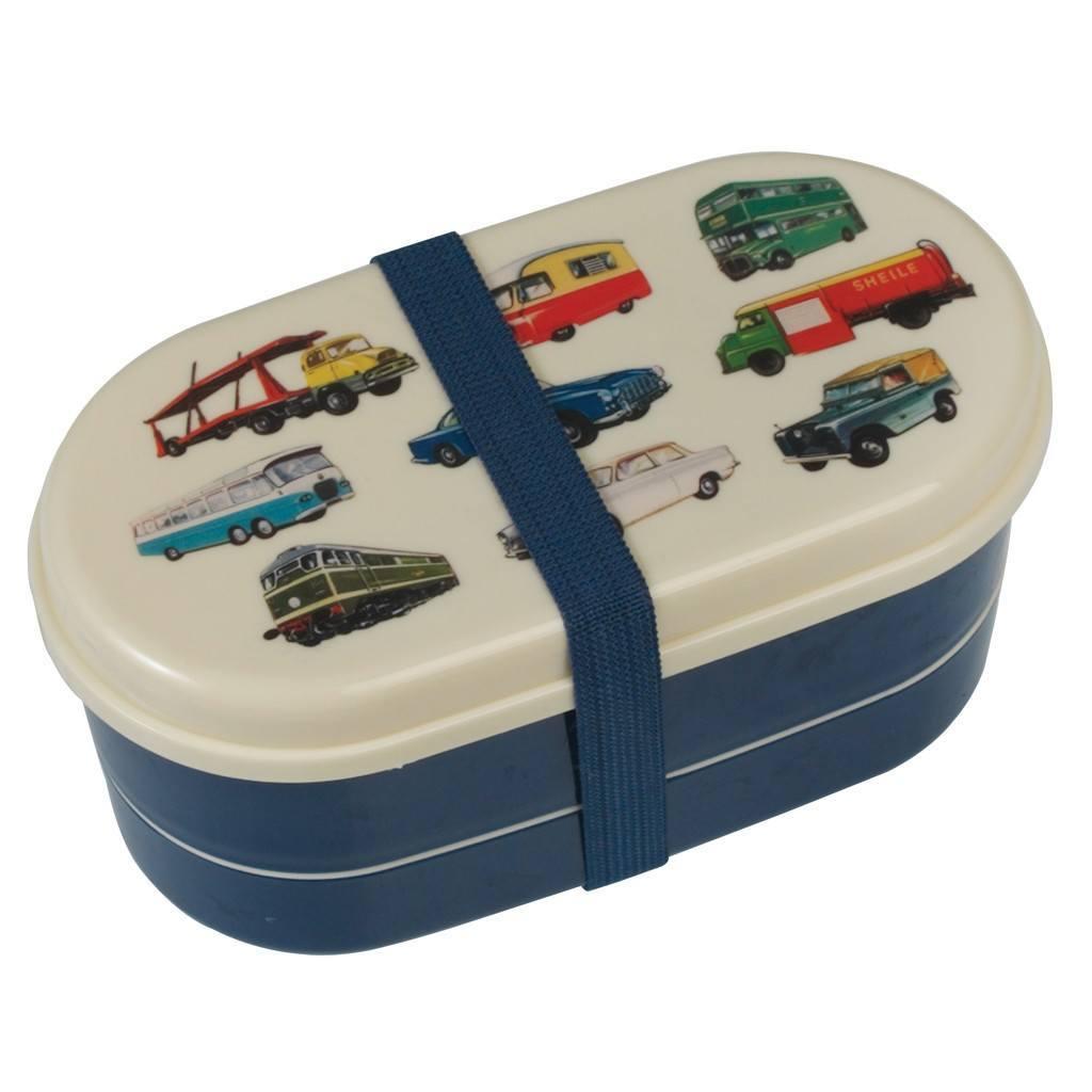 Bento Box met auto's voor kinderen Back to school lunchbox tips foodblog Foodinista